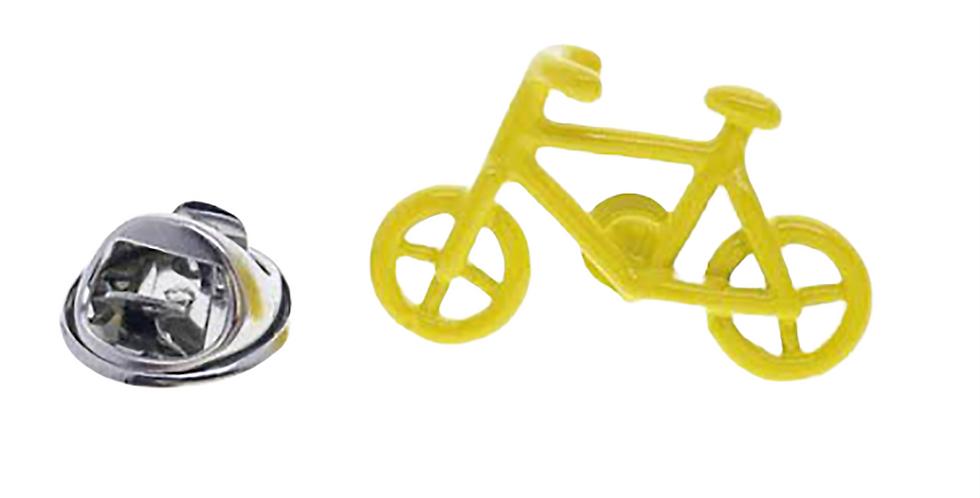Bicycle York Brooch