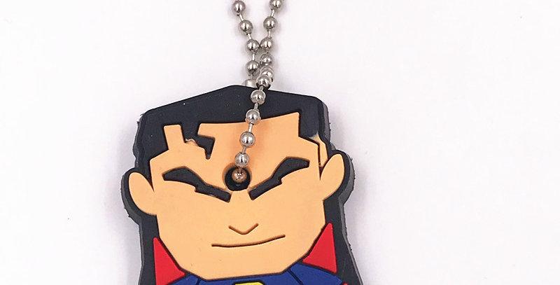 SUPERMAN, KEY COVER, KEY CHAIN, SUPERHERO