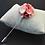 Thumbnail: Rose Pink Flower Lapel Pin