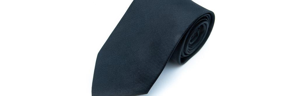 Black Twill Neck Tie