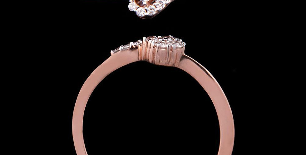 Zuri Rose Square Ring