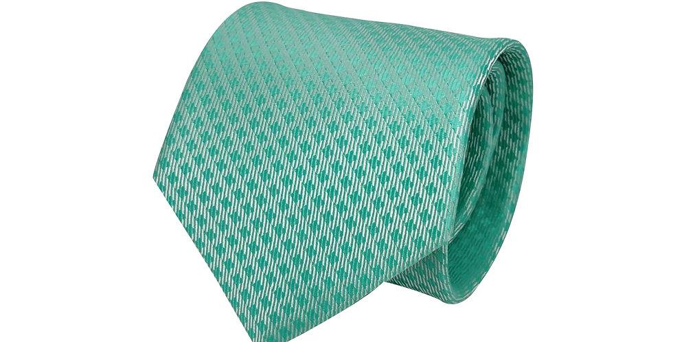 Mint Green Polka Tie