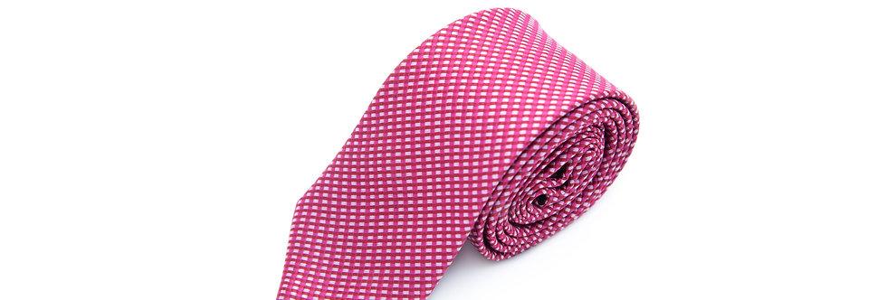 Magenta Stripe Neck Tie