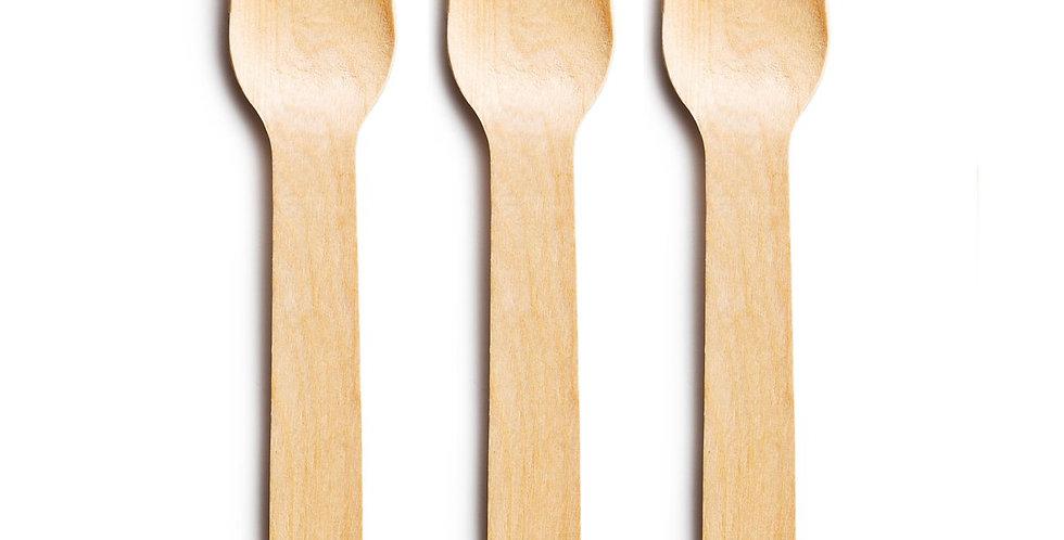 Wooden Fork - Pack of 100
