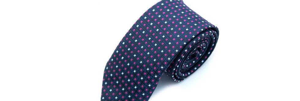 Cubical Pink Neck Tie