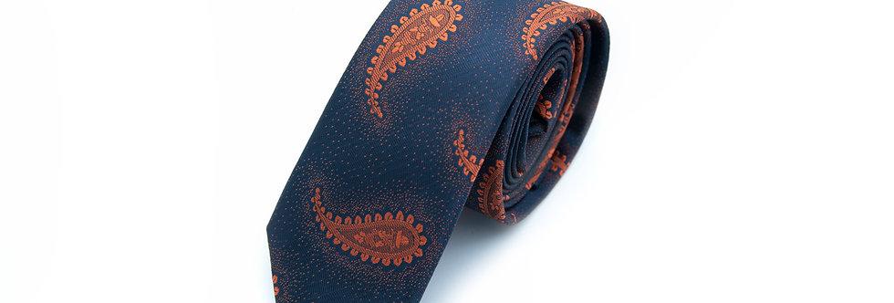 Paisley Hessonite Neck Tie