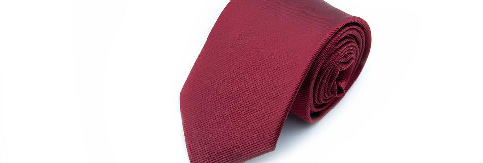 Maroon Twill Neck Tie