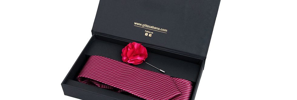 Pink Plush Gift Box for Men