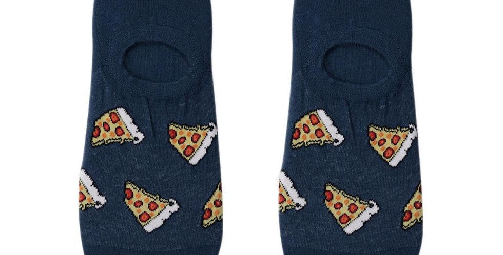 Pizza Splash Loafer Sock