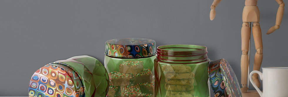 Gem Jars (Set of 3)