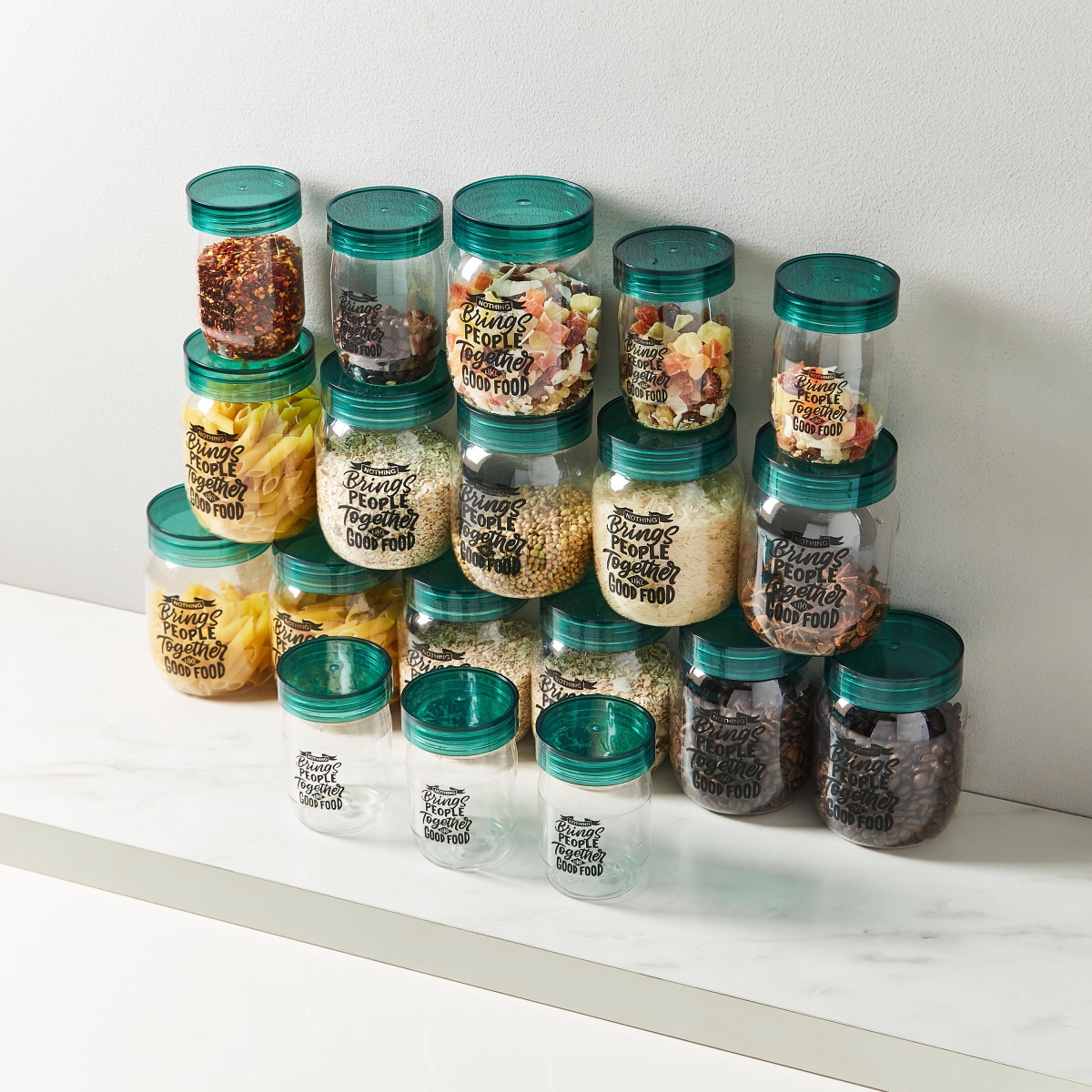 Spectra 19pc Jar Set (Mint)