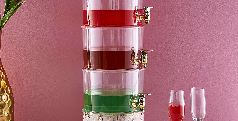 TRITAN™ Beverage Dispenser 3 tier
