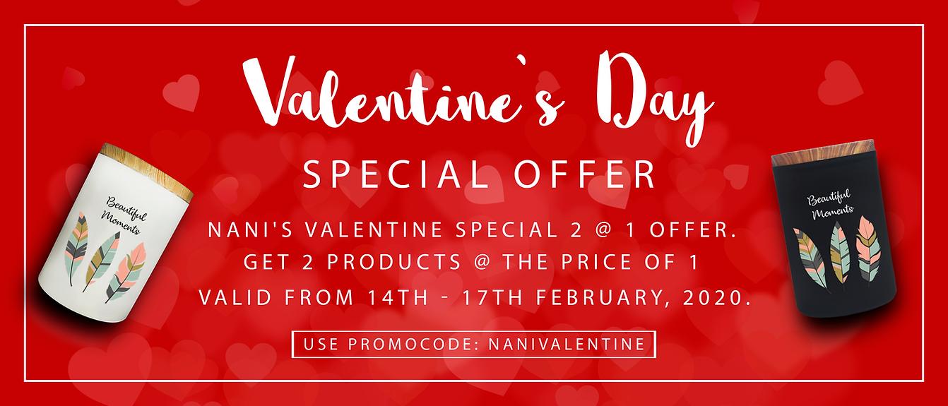 Valentine Special Offer Website 14.02.20