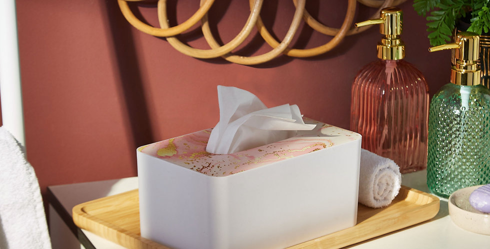 Trends Tissue Box (Marble)