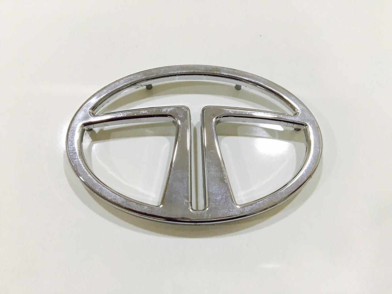 TATA logo - Chrome Plated