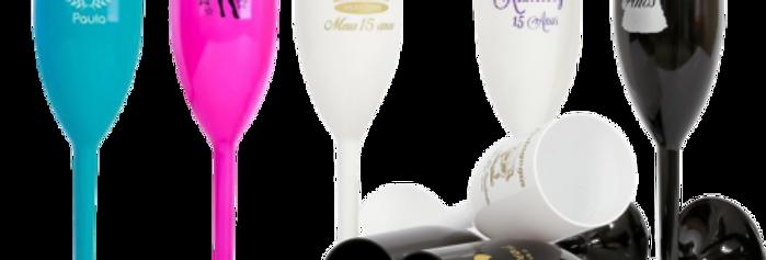75 Taça De Champagne  Personalizada