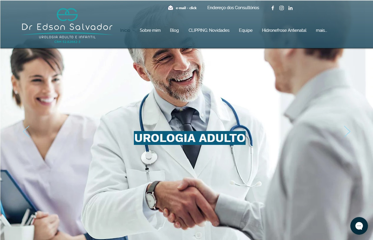 Dr Edson Salvador urologista SP