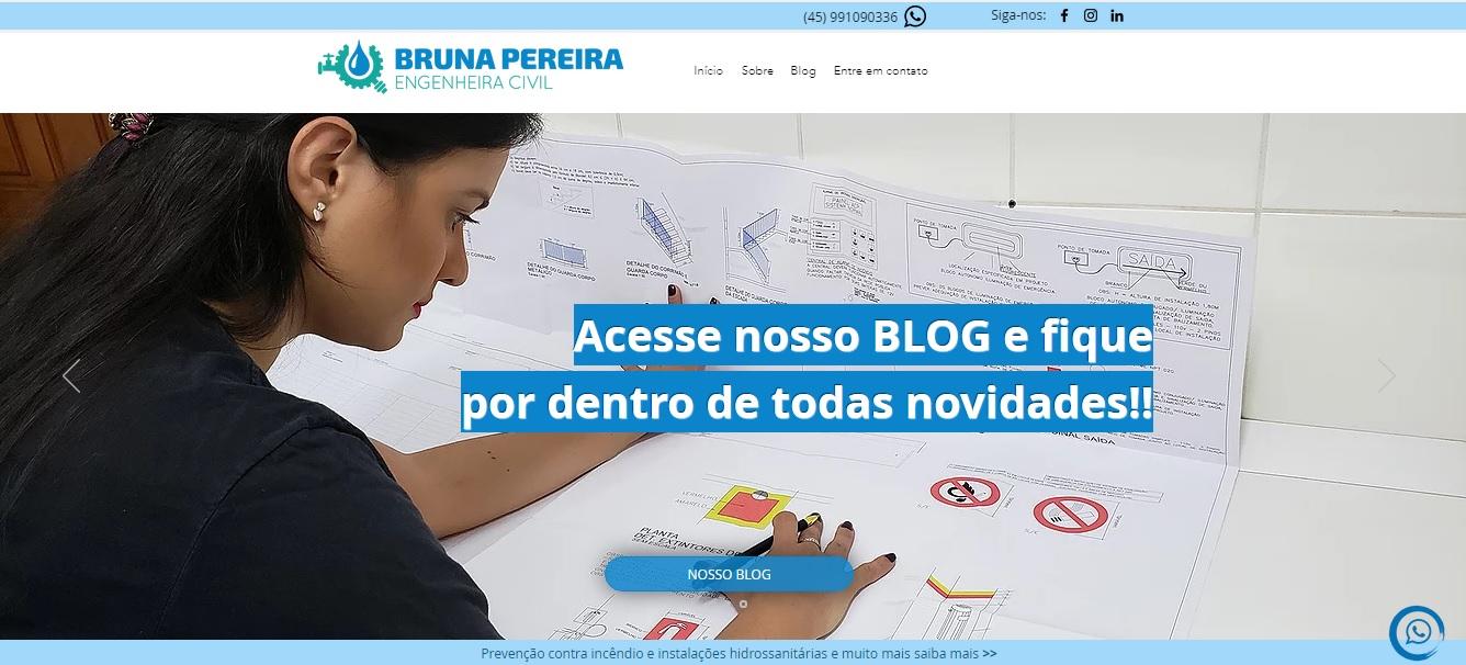 Bruna Pereira engenheira
