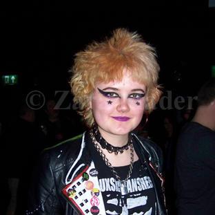 Grace at a Buzzcocks gig ©ZaraMader.jpg