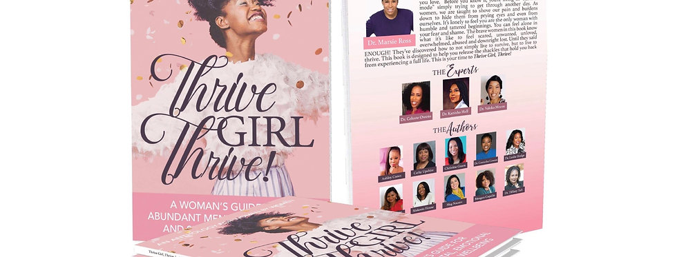 Thrive Girl Thrive Paperback Book