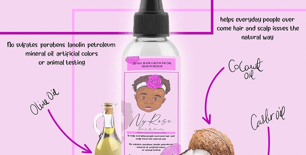 Baby Hair Growth Oil Moisturizer