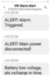 Prrestige XFinder Text Trigger Alerts.pn