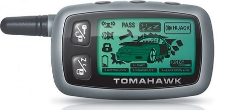tomahawk 9010 2 way pager remote control