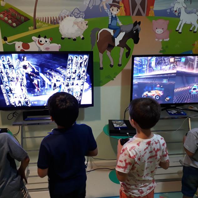 Locação de videogames - Festa infantil