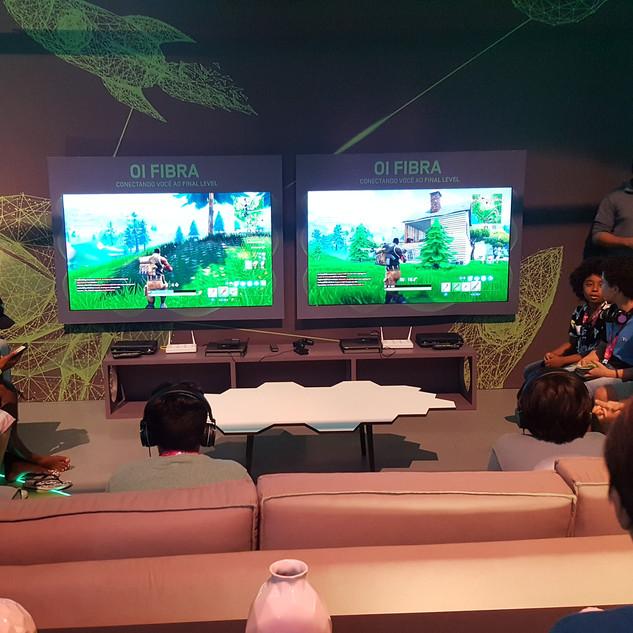 Locação de videogames - Oi na Game XP