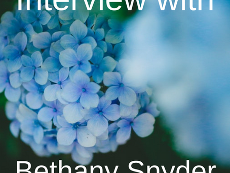 Interview with Bethany Snyder