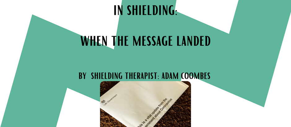 In shielding - When the message landed