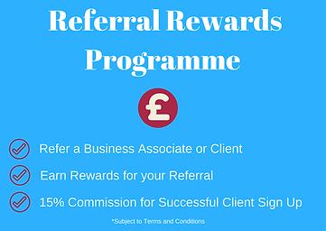 Associate Referral Reward Programme