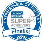'Entrepreneur of the Year' Finalist in Pitman SuperAchievers 2016