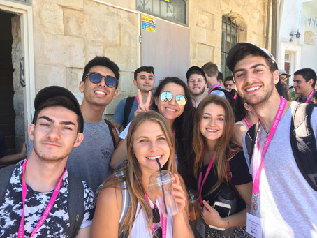 Views from Birthright Bus 1569