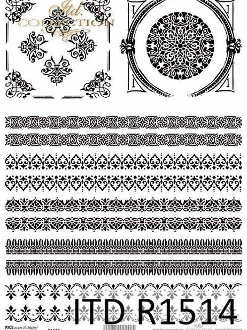 Laces - Rice Paper