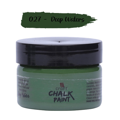 Deep Waters, Chalk Paint - ICraft