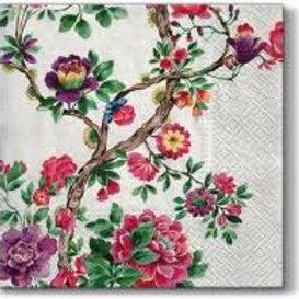 Floral Treat - Decoupage Napkin