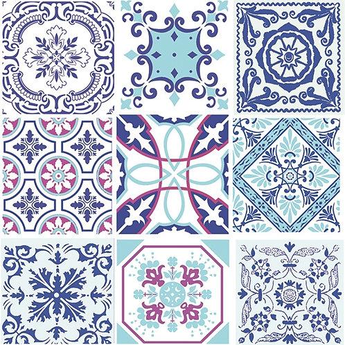 Moroccan Tiles - Decoupage Napkin