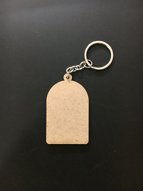 Cage Key Chain
