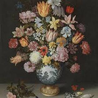 Bosschaert Floral- Decoupage Napkin
