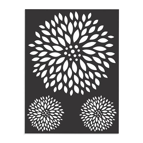 Boroque - Stencil -7.3x9.7