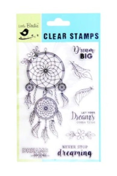 Dream Big - Little Birdie Clear Stamp
