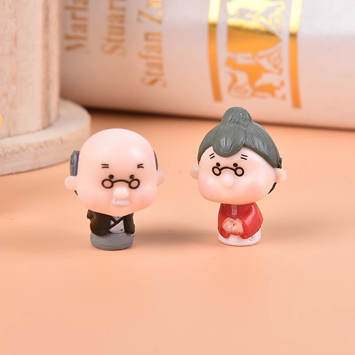GrandMa & GrandPa Couple- Resin Miniature