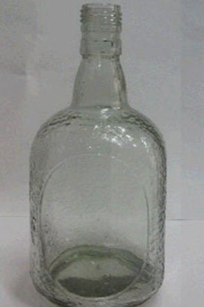 Empty Old Monk Bottle