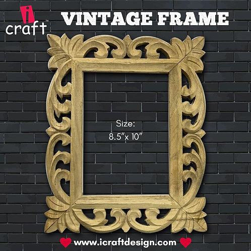 Vintage Frame Rectangle  - ICraft