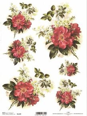 Full Roses - Rice Paper
