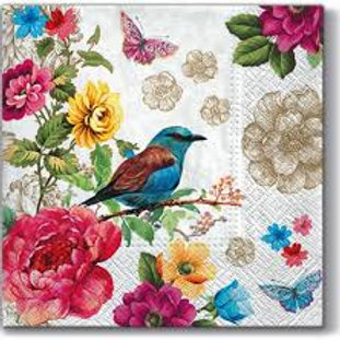 Birds Of Paradise - Decoupage Napkin