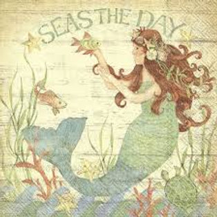 Seas Of The Day - Decoupage Napkin