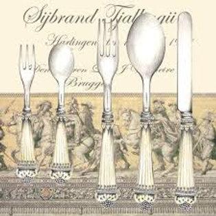Cutlery - Decoupage Napkin