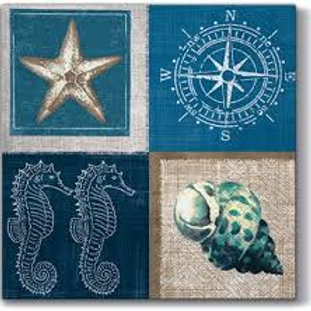 Sea Life- Decoupage Napkin